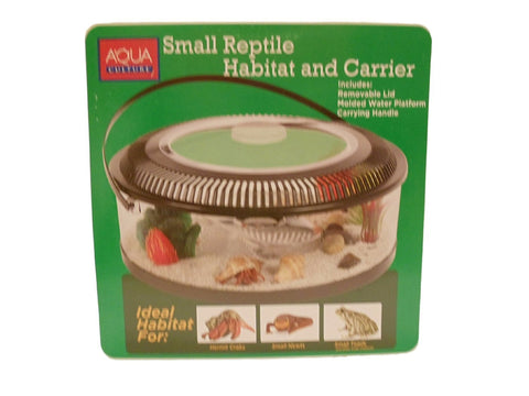 Aqua Culture Small Reptile Habitat and Carrier