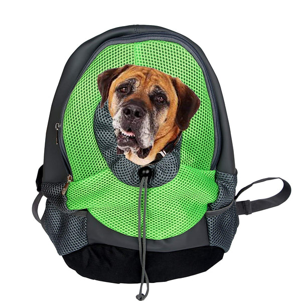 Portable Pet Carriers Bag Front Pack Head Out Dog Backpack Travel Carries For Hiking Outdoor Double Shoulder By Pustor