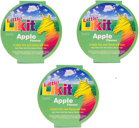 Little Likit Refill Equine Treats - Apple (3 Pack)