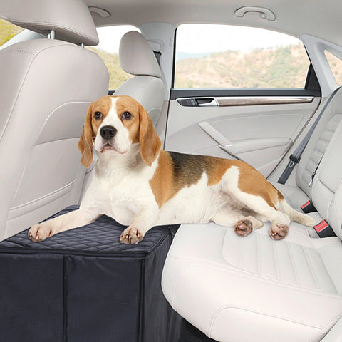 Trenton Gifts Waterproof Dog Seat Extender With Storage | Safer & More Comfortable For Your Pet