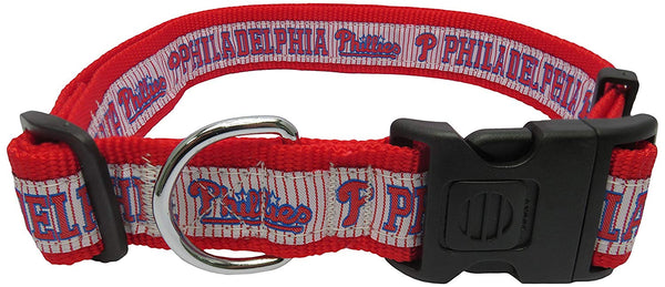 MLB PHILADELPHIA PHILLIES Dog Collar, X-Large