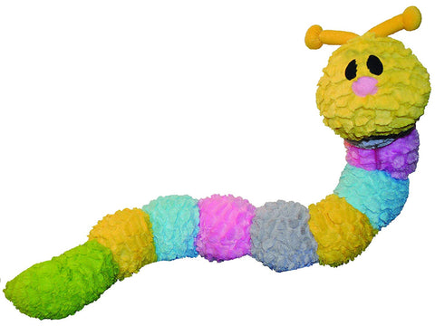 "35"" Caterpillar Dog Toy from Patchwork"