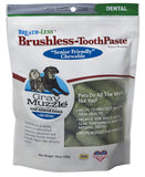 Ark Naturals Brushless Toothpaste, Dental Chews for Dogs, Plaque, Tartar, and Bacteria Control, Freshen Breath, Chewable, Natural Ingredients (Packagi