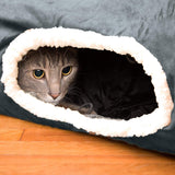 Kitty Cat Tunnel - Interactive Play Cat Tube Toy with Crinkle Sound- Best Cat Tunnels for Indoor Cats - Fun Kitty Tunnel For Hiding - Pet Friendly Cat