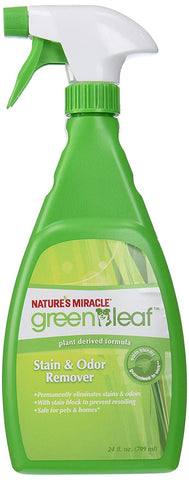 Nature's Miracle Green Leaf Stain & Odor Remover, 24 oz