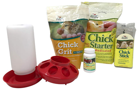 Manna Pro Chick Starter Crumbles and Starter Kits