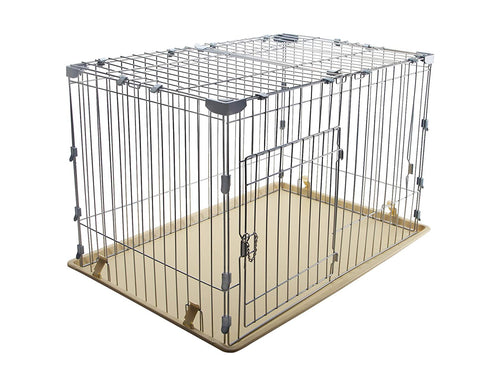 IRIS Wire Deluxe Dog Crate