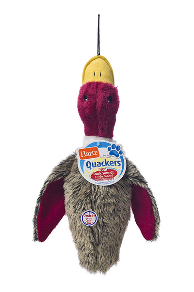 Hartz Nature's Collection Quackers Plush Duck Dog Toy