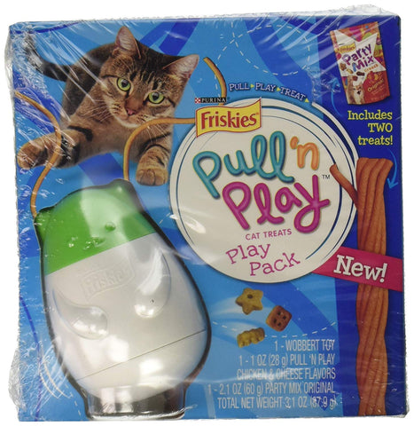 Friskies Pull N Play Cat Toy & Treat Dispenser