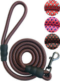 iYoShop Sturdy Nylon Dog Leash for Small Medium Large Dogs - Durable and Thick Nylon Rope - 5 or 6 Feet Long - Reduced Price - Lowest Price of The Yea
