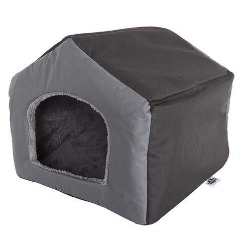 PETMAKER Cozy Cottage House Shaped Pet Bed