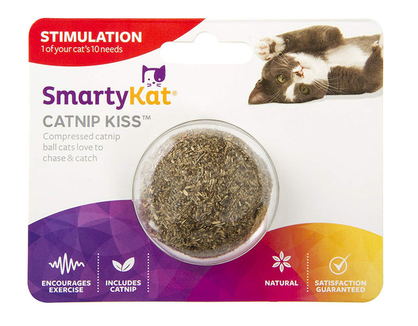 SmartyKat Compressed Catnip Cat Toy