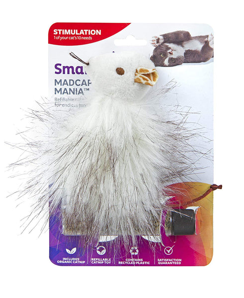 SmartyKat Madcap Mania Refillable Catnip Cat Toy (Style Varies)