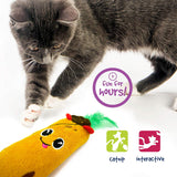 Pet Craft Supply Funny Enticing Crinkle Pouncing Cuddling Chasing Catnip & Silvervine Interactive Boredom Relief Cat Toys