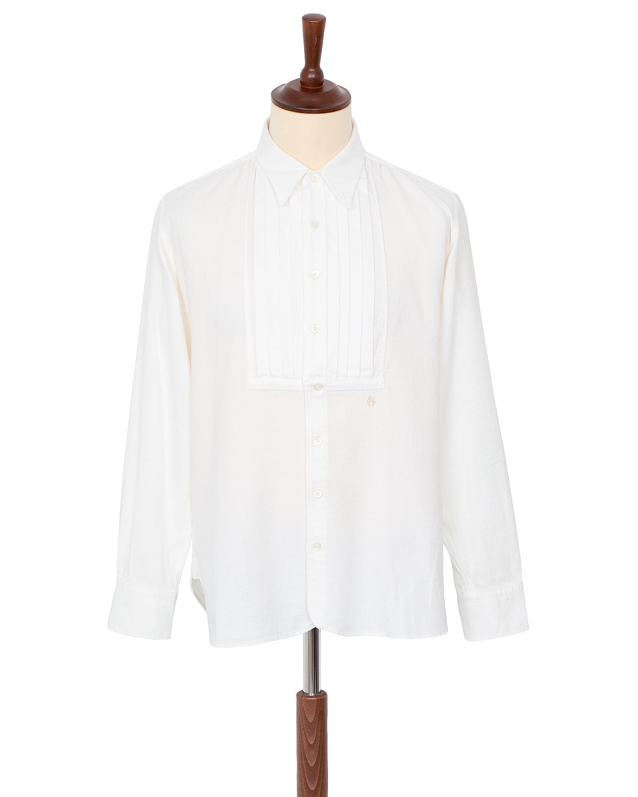 By Glad Hand, Point Collar Shirt, White