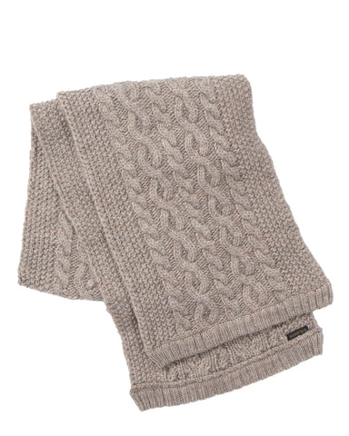 By Glad Hand Island Knit Scarf, Beige
