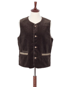 By Glad Hand, Brother Union, Corduroy Vest, Brown