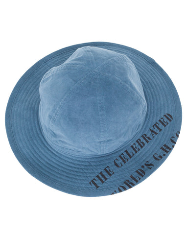 By Glad Hand, Gladden, Corduroy Hat, Blue