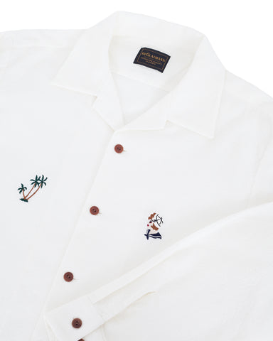 By Glad Hand, Mary Shirt, White
