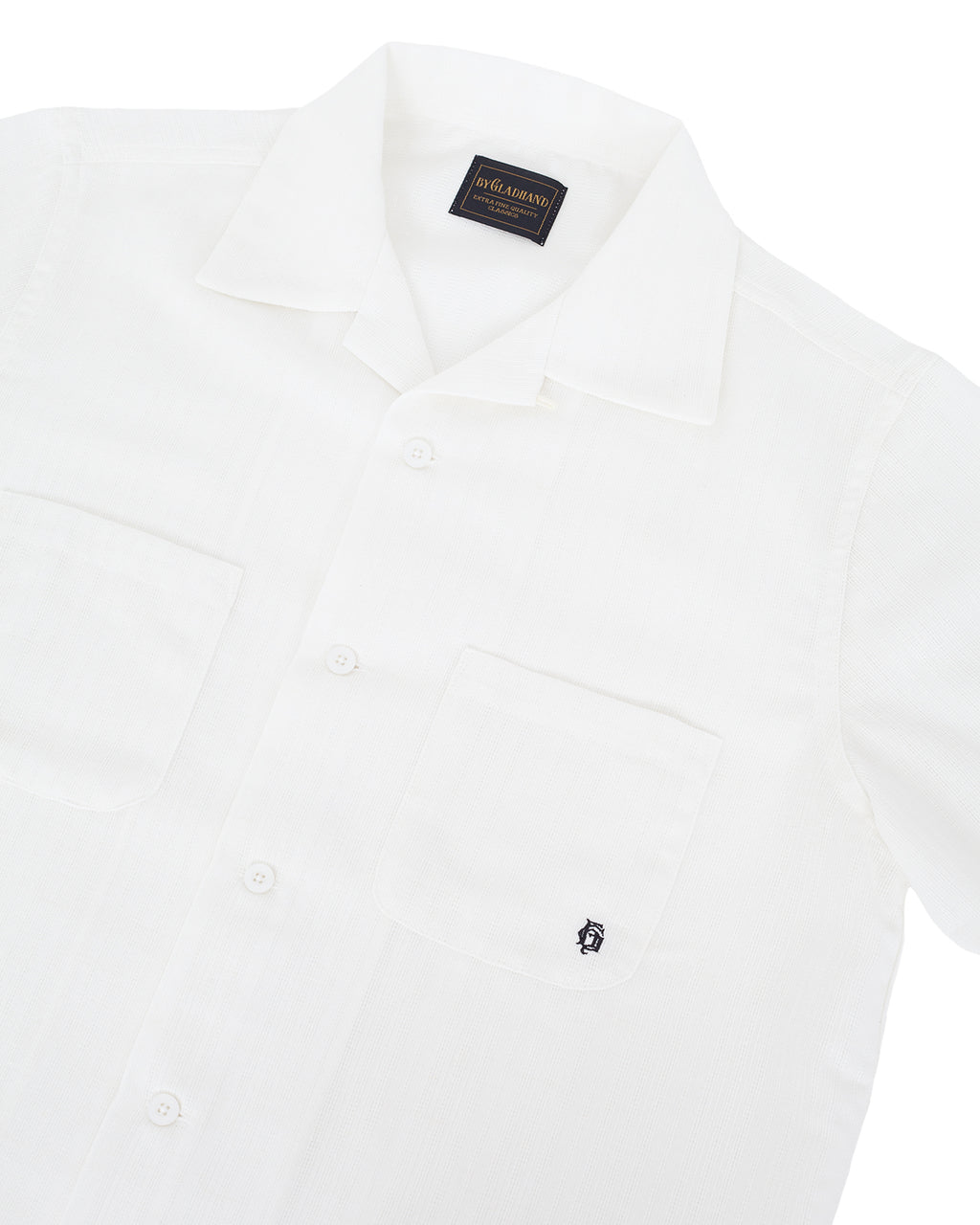 By Glad Hand, Voyage Shirt, Short Sleeve, White
