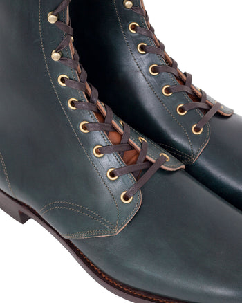 Clinch Hi-Liner Boots, CN Soft Toe, Latigo, Vintage Black
