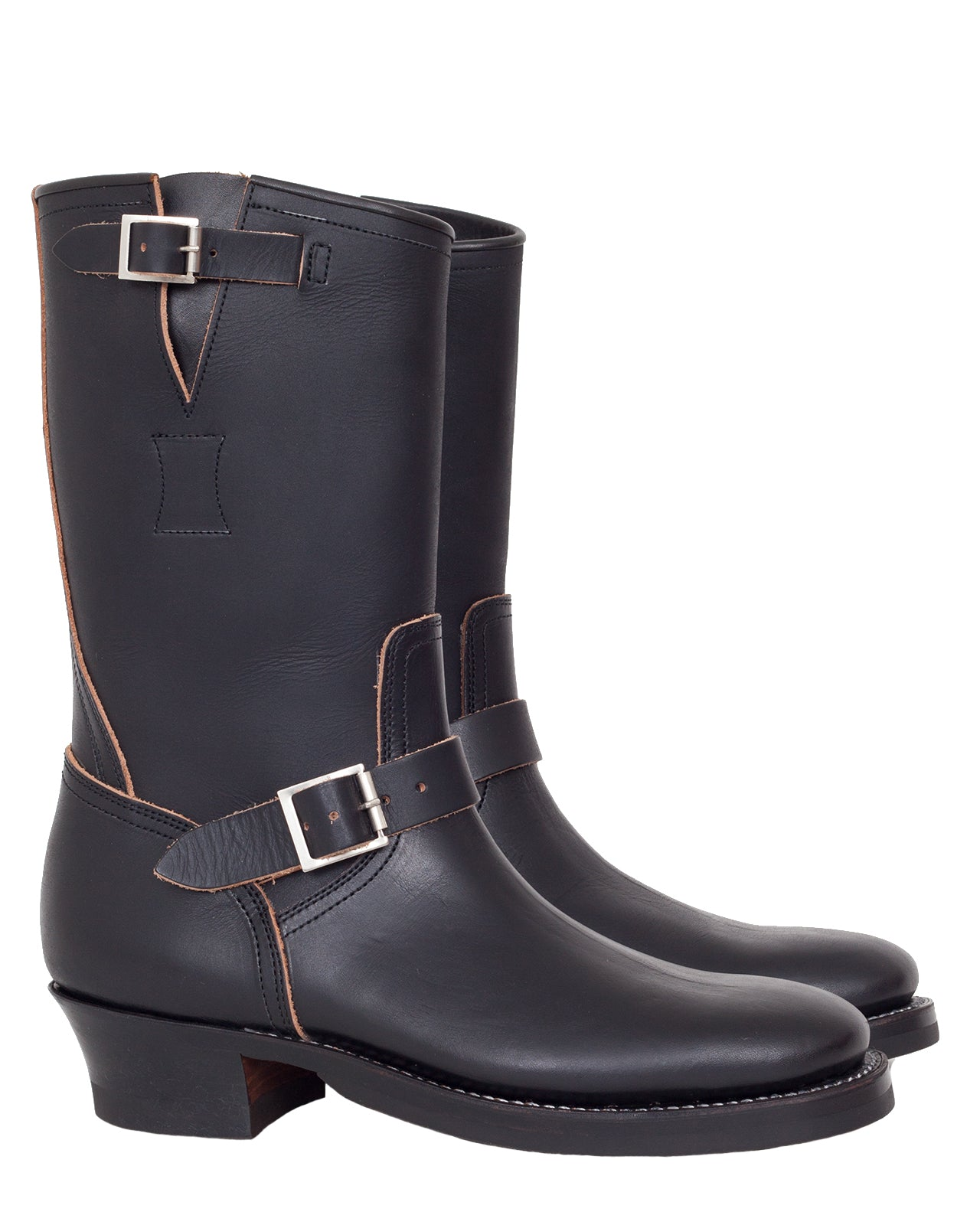 Clinch Engineer Boots, CN Soft Toe, Latigo, Overdye Black