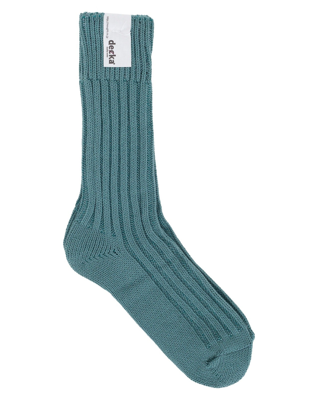 Decka Cased Heavy Weight Plain Socks, Cadel Blue