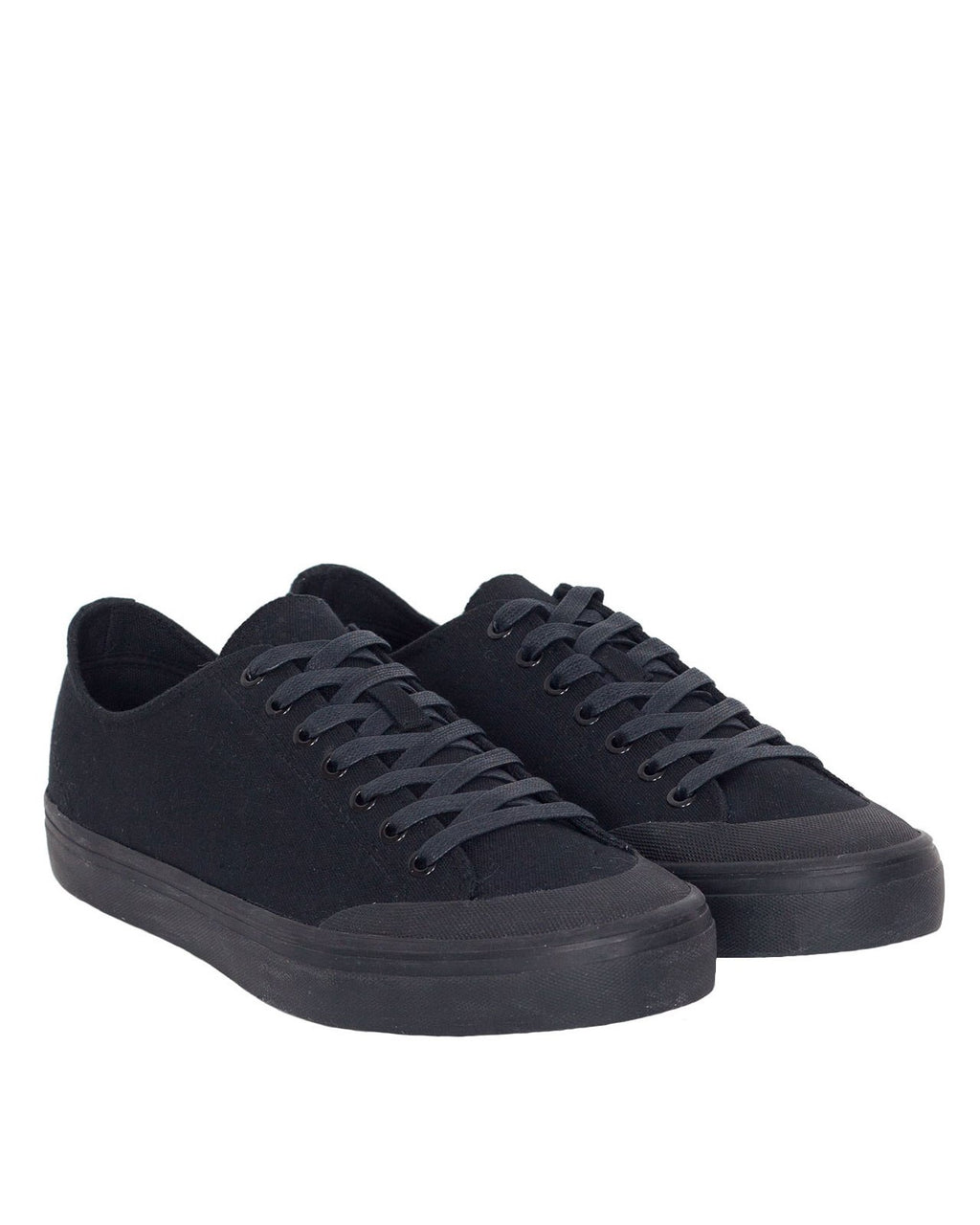 Erik Schedin Canvas Sneaker, Black