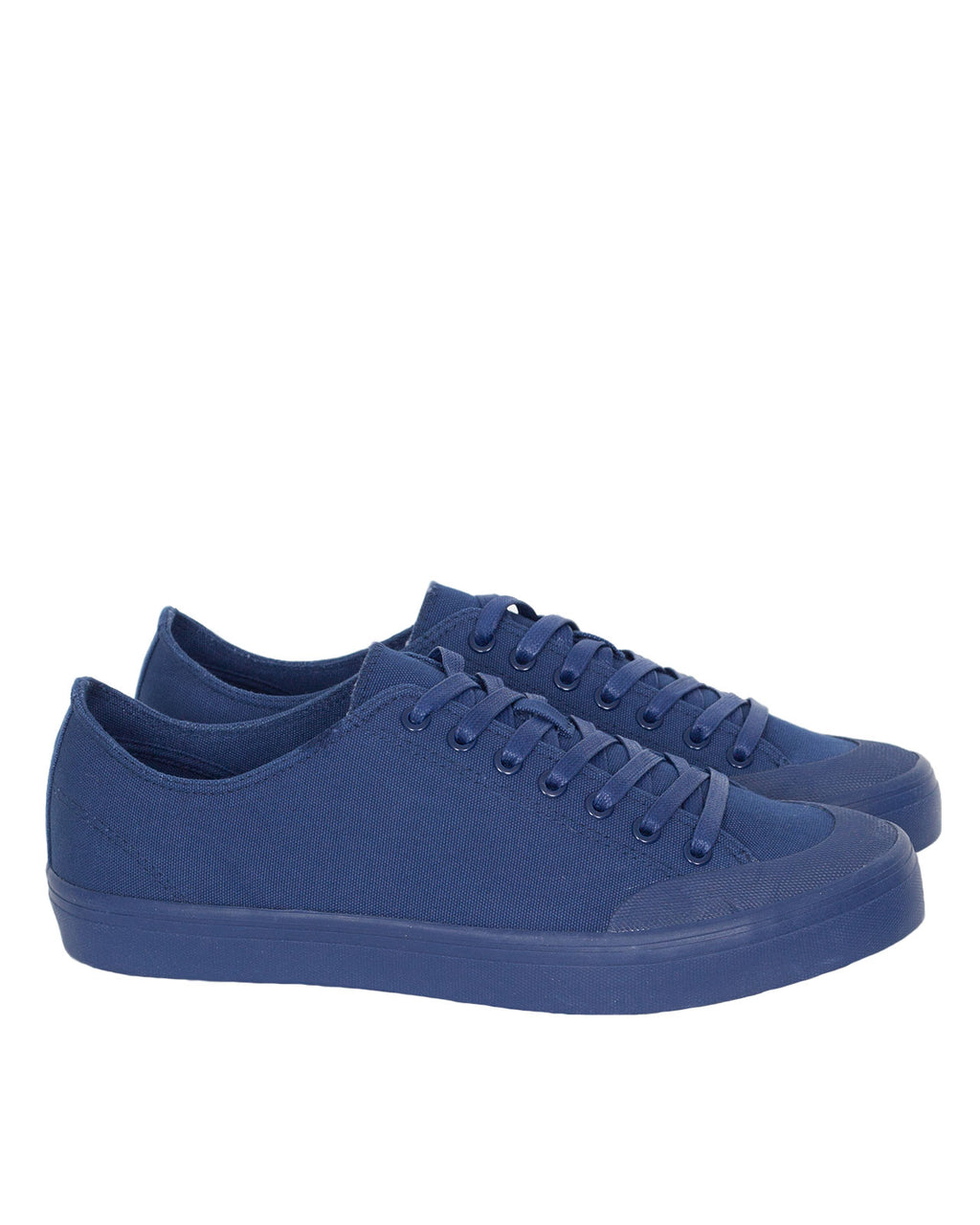 Erik Schedin Canvas Sneaker, Deep Blue