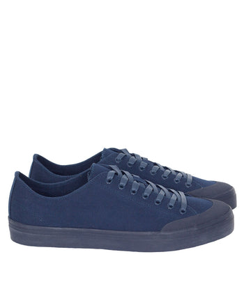 Erik Schedin Canvas Sneaker, Navy Blue