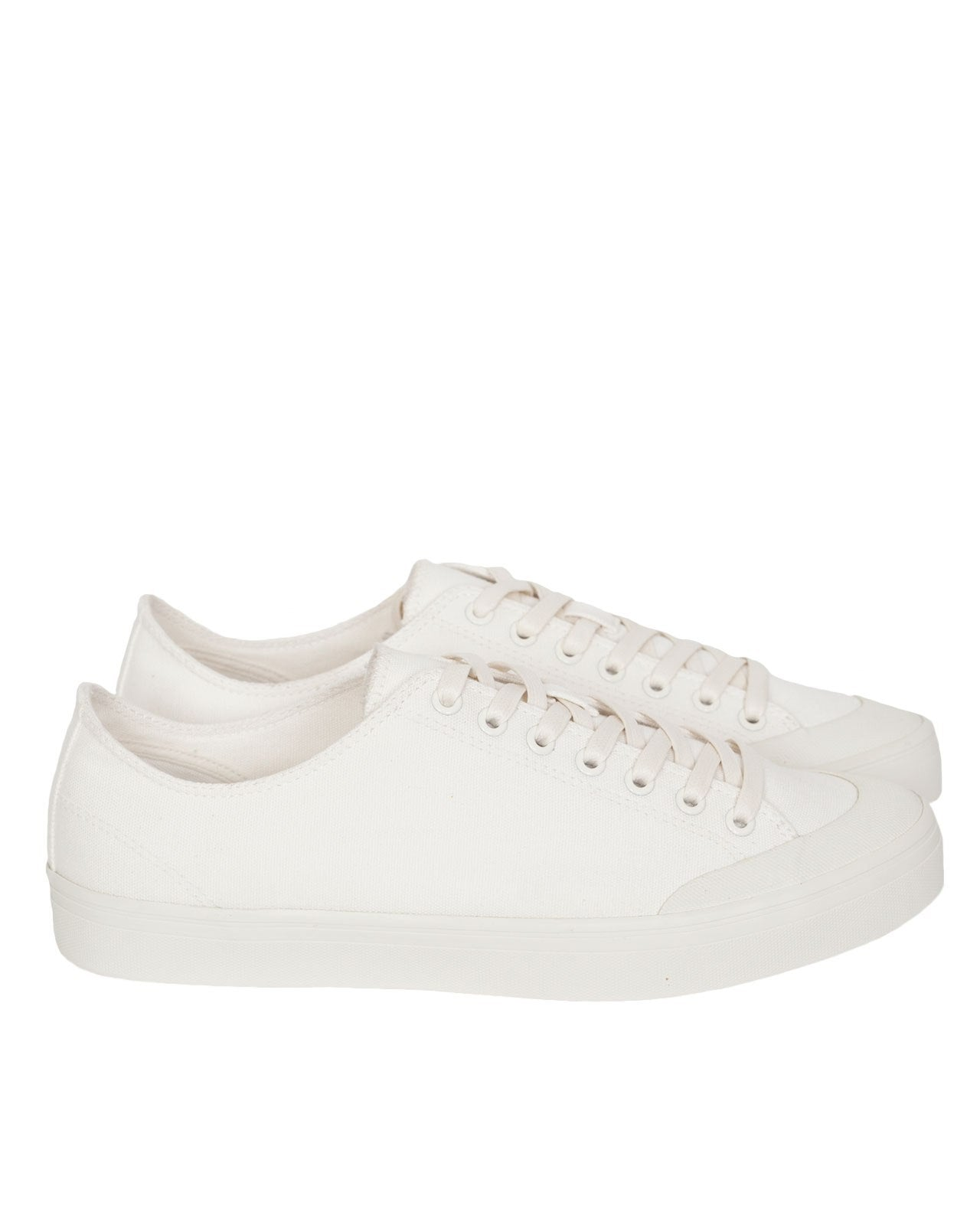 Erik Schedin Canvas Sneaker, Off-White