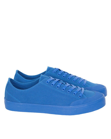 Erik Schedin Canvas Sneaker, Sea Blue
