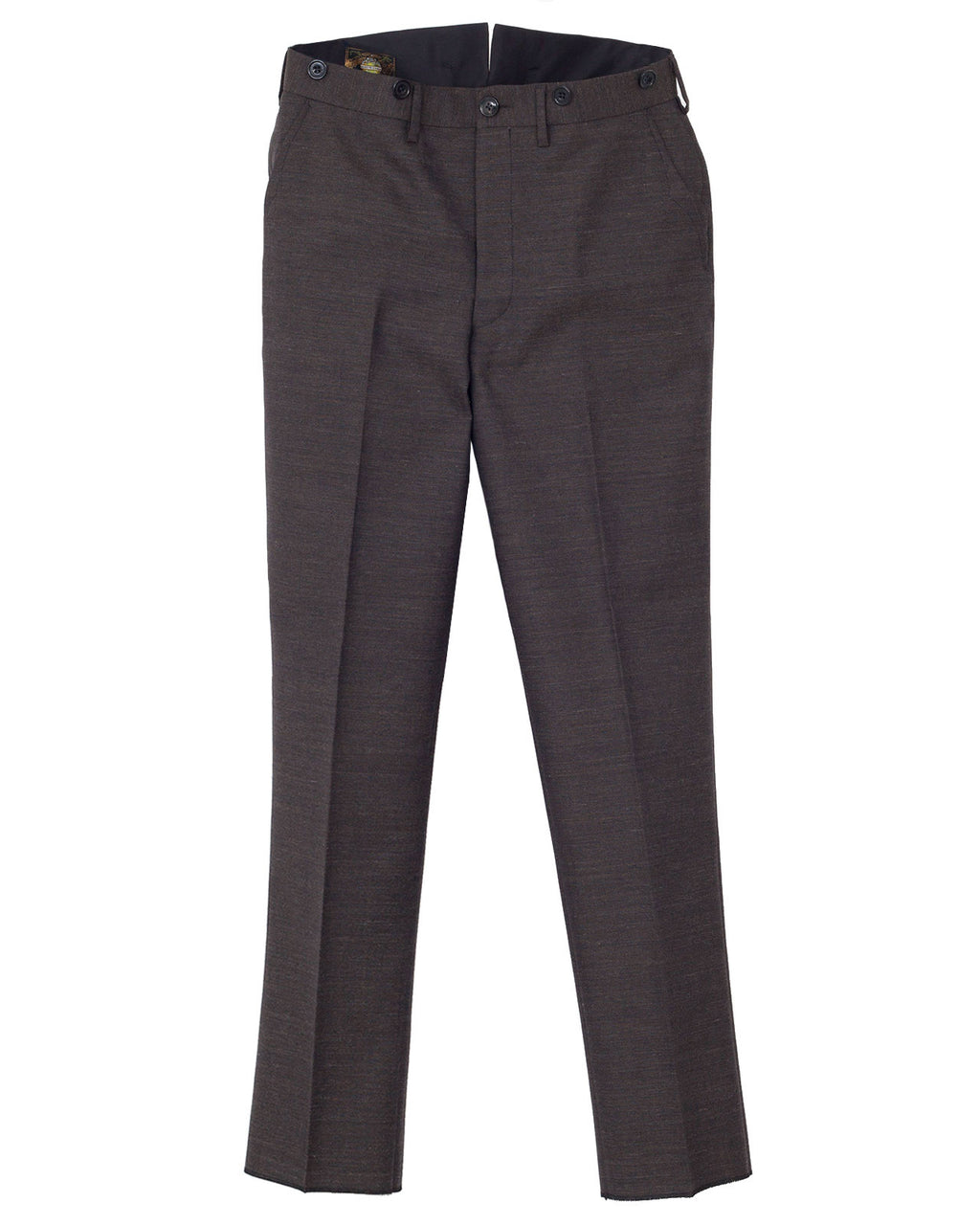 Freewheelers Parker Trousers, Olive Grey