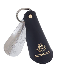 Glad Hand Shoe Horn Case / Key Ring, Brown
