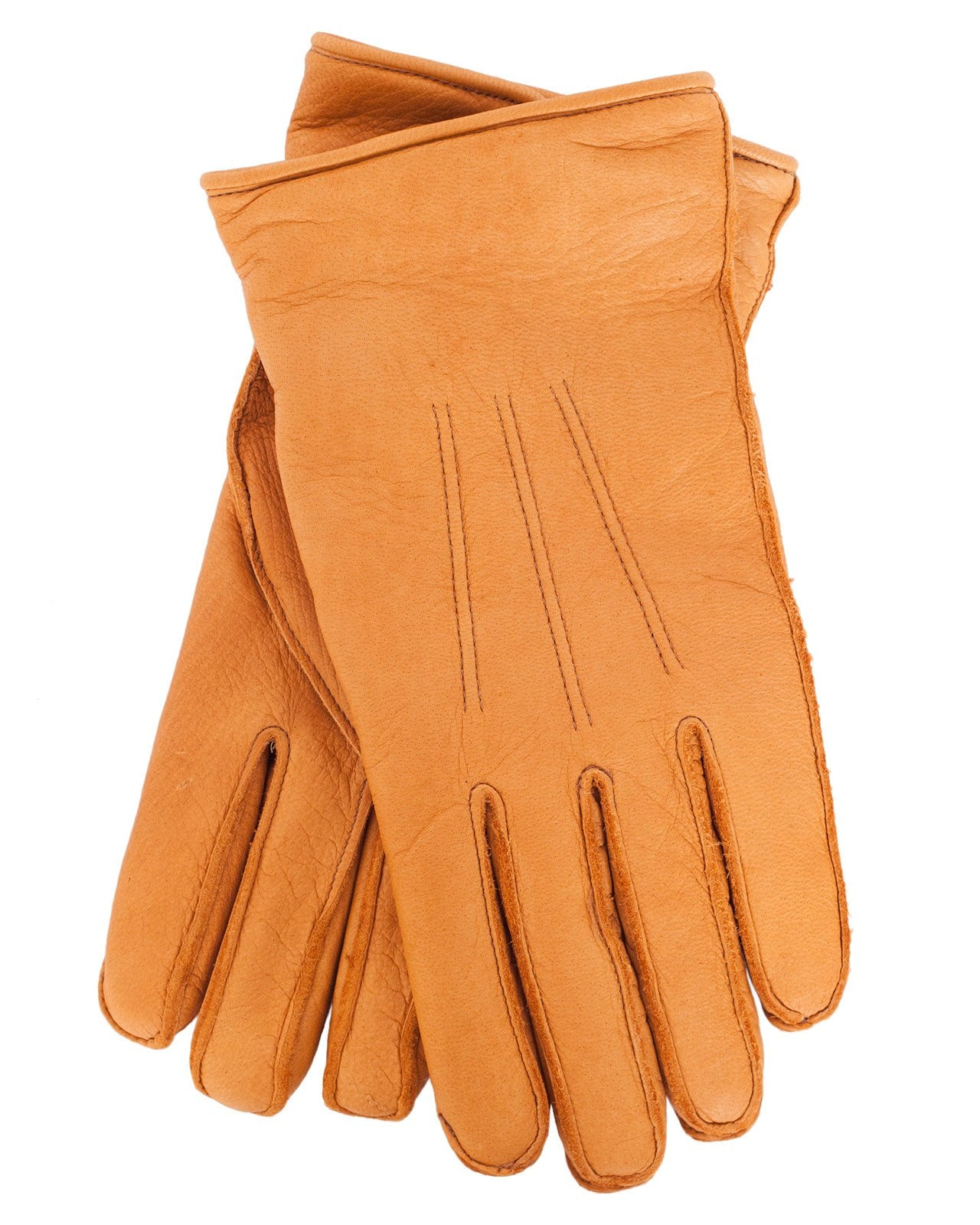Glad Hand Leather Gloves, Camel