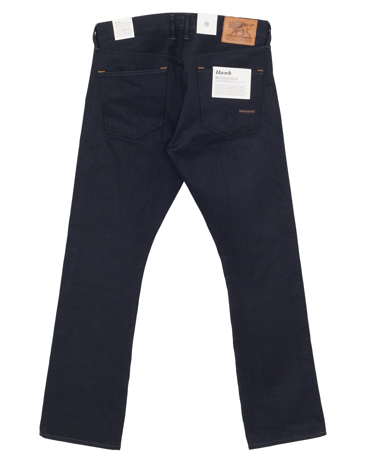 Indigofera Iconic Hawk Jeans, Gunpowder