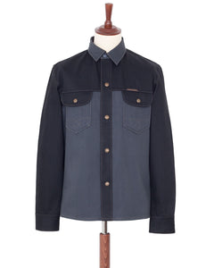 Indigofera Copeland Shirt Two-Tone, Gunpowder/Powderville