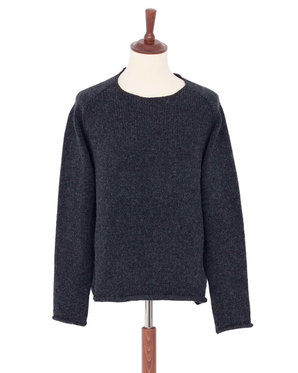 Indigofera Willow Wool Sweater, Dusk Melange