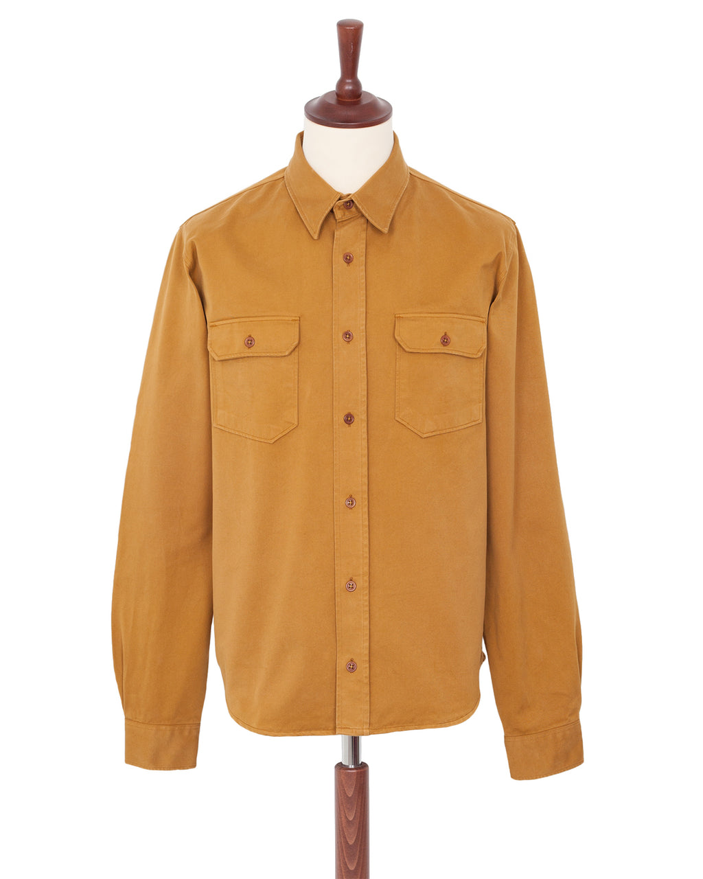 Indigofera Alamo Shirt, Golden Oak