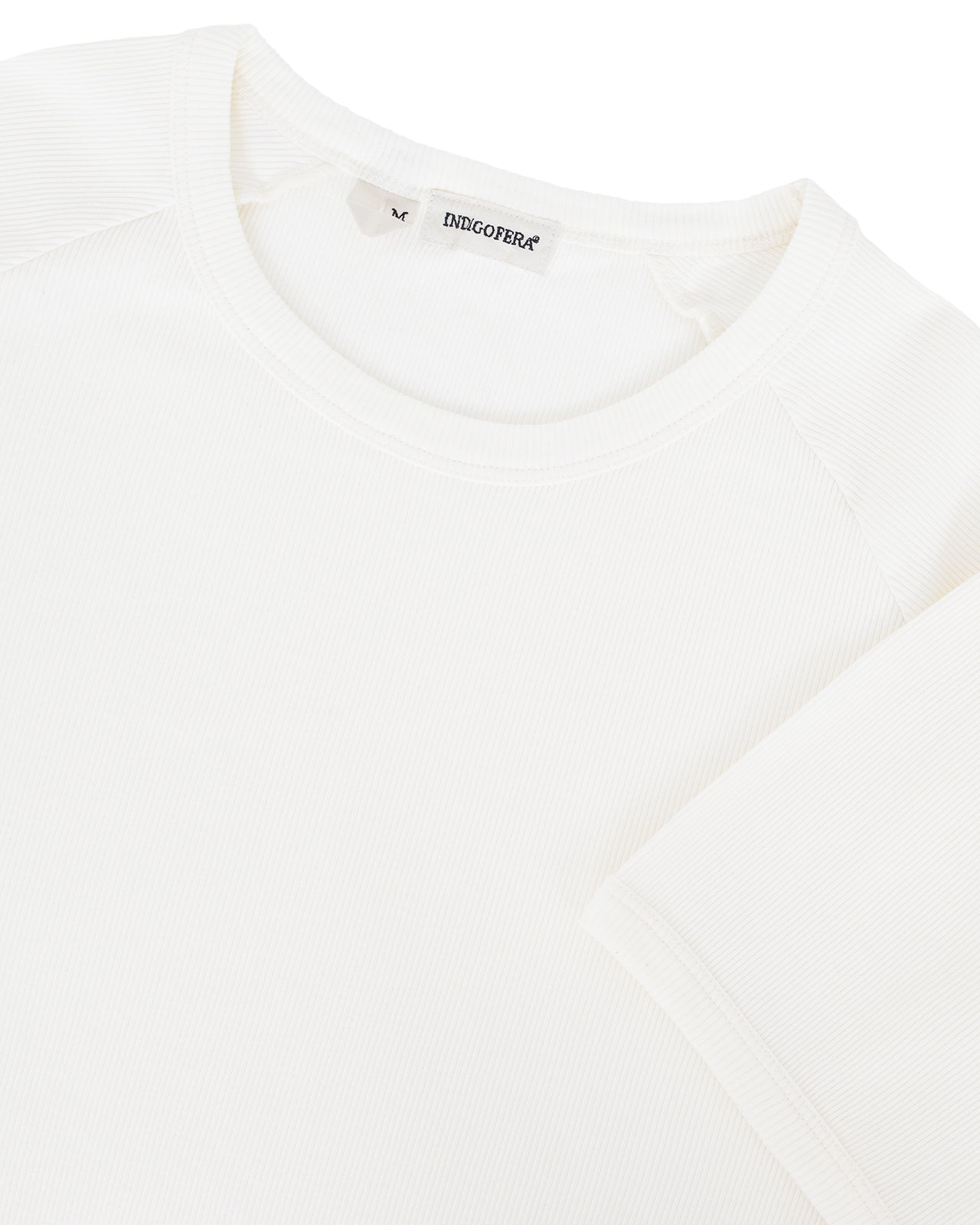 Indigofera Harvey T-Shirt, Cocatoo White