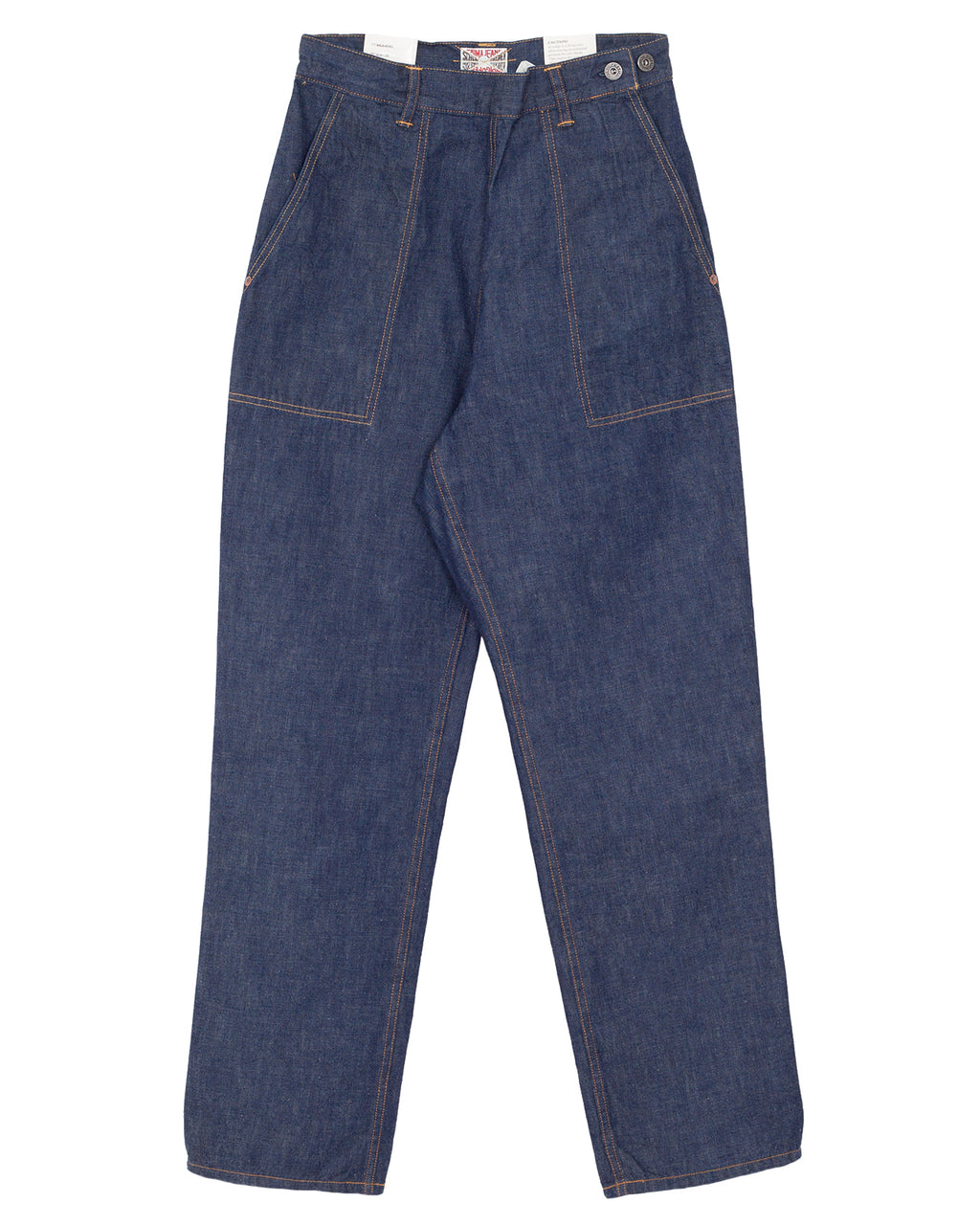 Indigofera x Miriam Parkman, Weavers Pants, 40s Navy Denim