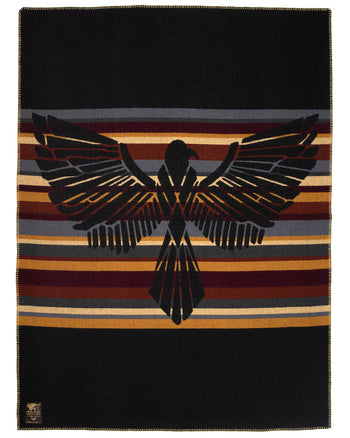 Indigofera x Israel Nash, Wool Blanket, Travel On