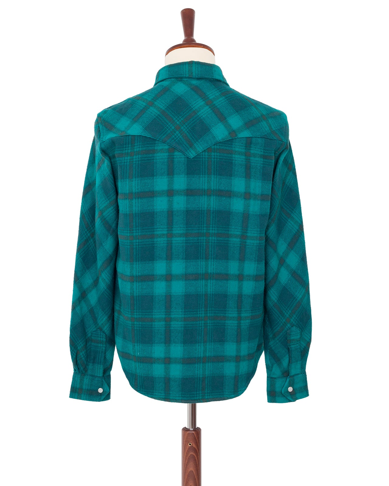 Indigofera x Miriam Parkman, Cliffs and Moss Shirt, Check Flannel