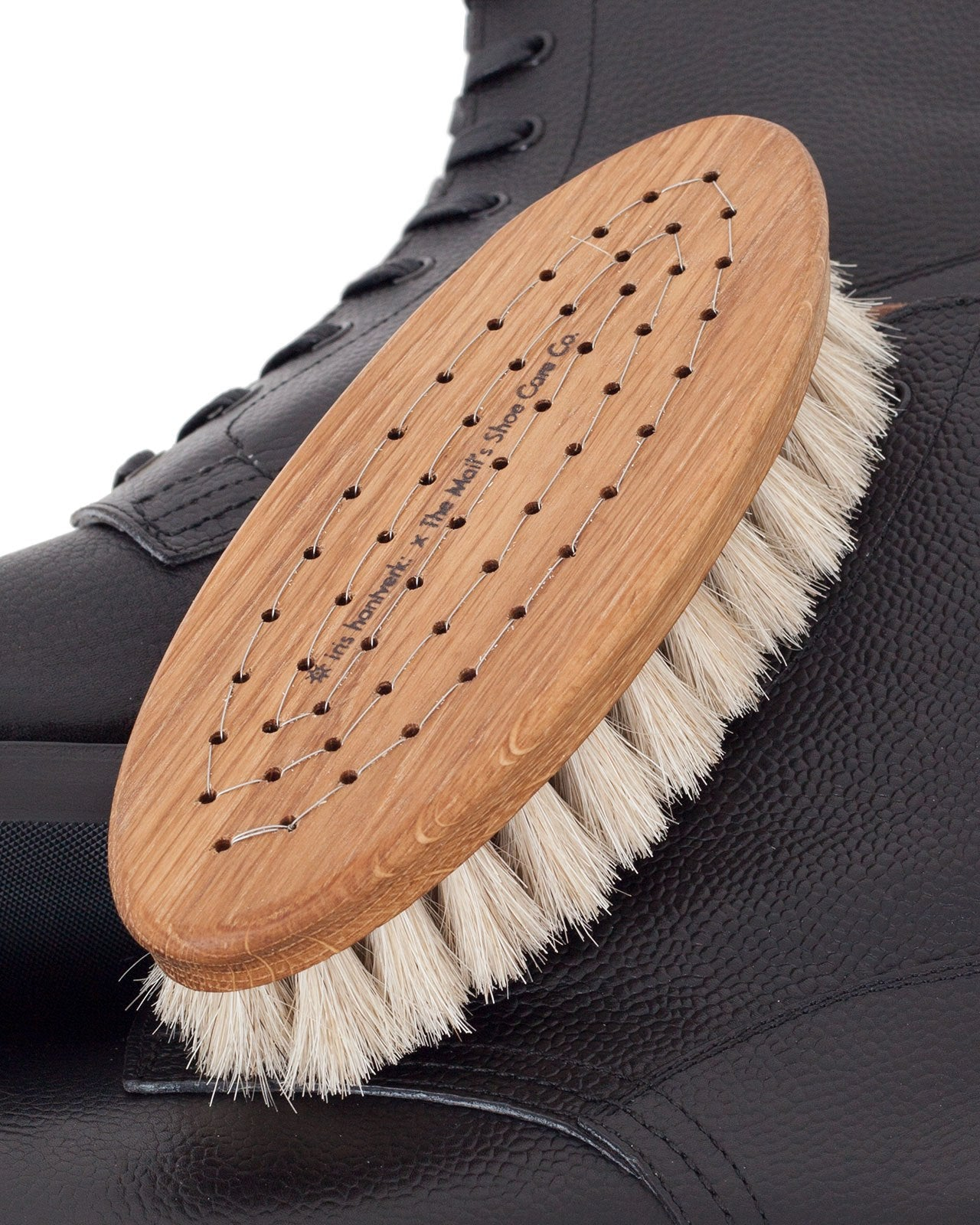 The Mail's Shoe Care Co x Iris Hantverk, Horse Brush