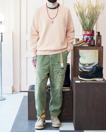 Visvim Jumbo Sweater and Kapital Pants