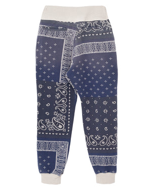 Kapital Fleecy Knit Bandana Sweat Pants