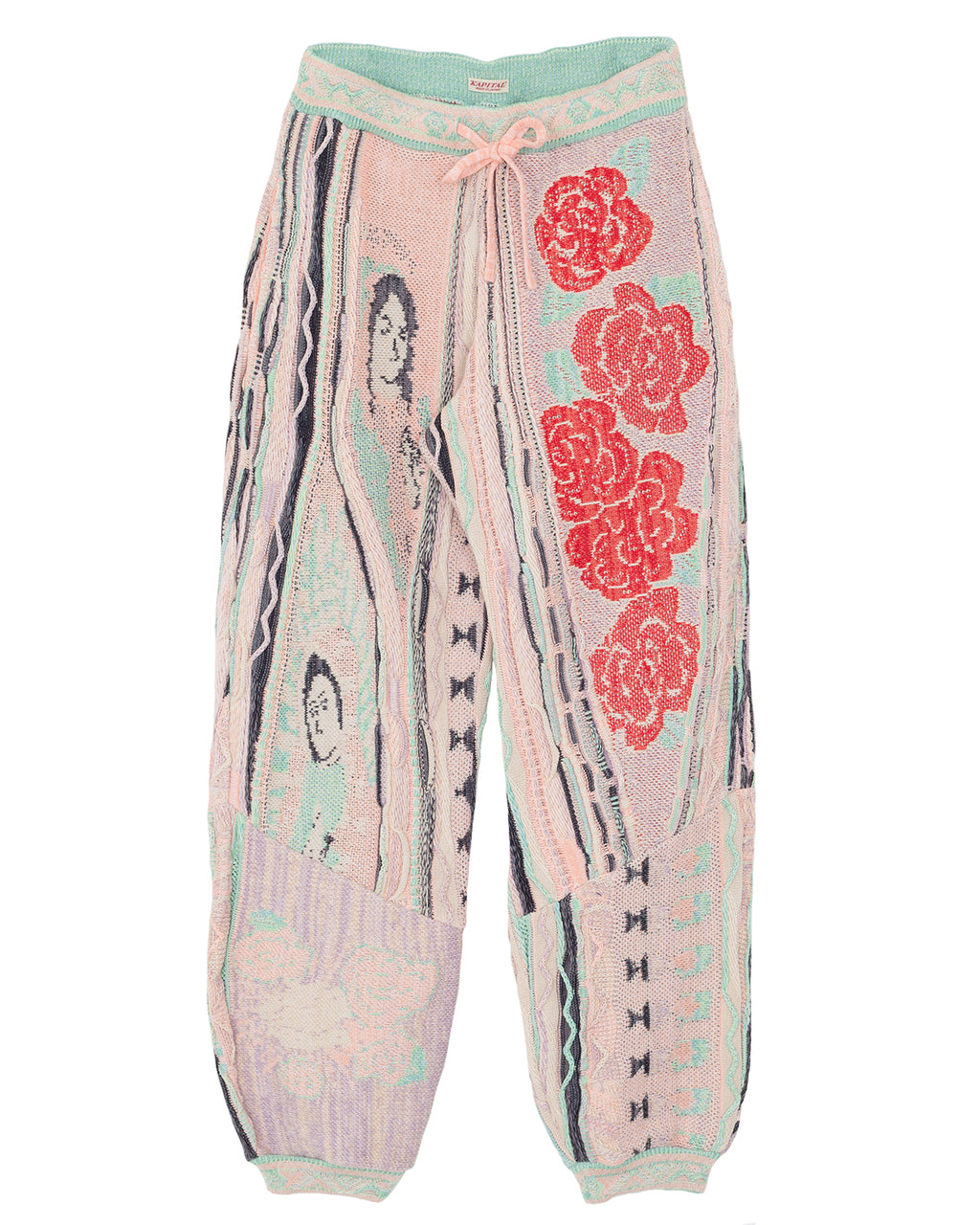 Kapital 7G Knit Virgin Mary Gaudy Sweat Pants
