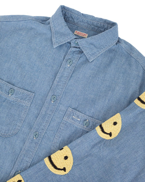 Kapital Chambray Shirt Smile Back