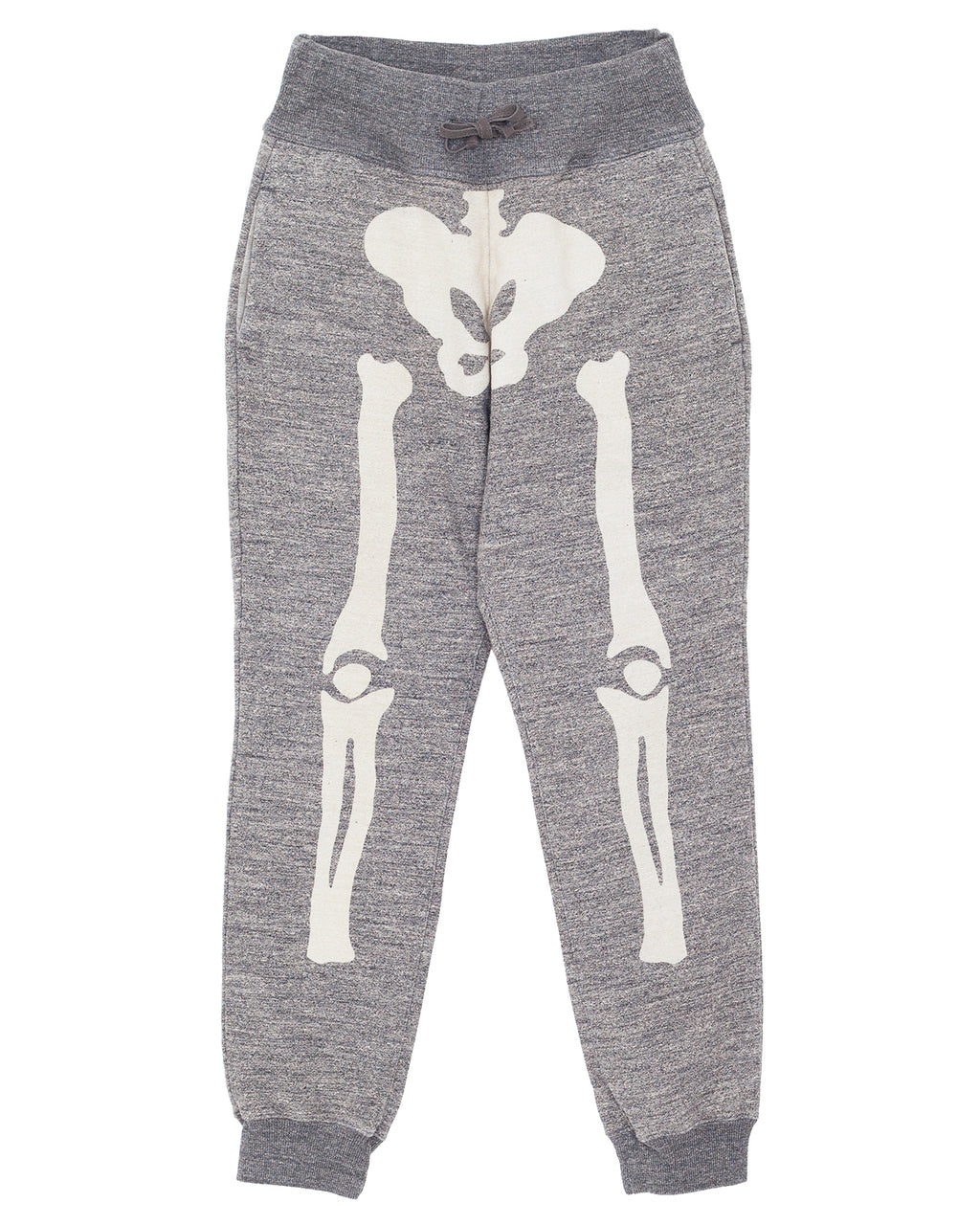 Kapital Grandrelle Fleece Knit Sweat Pants (Bone), Charcoal