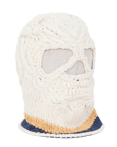 Kapital Cotton Hand Knit Skull Beanie